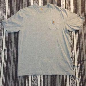 Grey Carhartt T Shirt